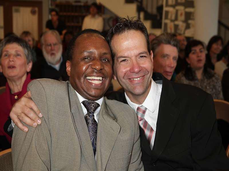 Pastor Daniel und Pastor Mario (Foto: privat)