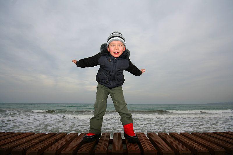 Glücklichsein - wie ein Kind (lizenzfreies Foto von sxc.hu)